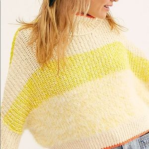 Free people lemon sweater